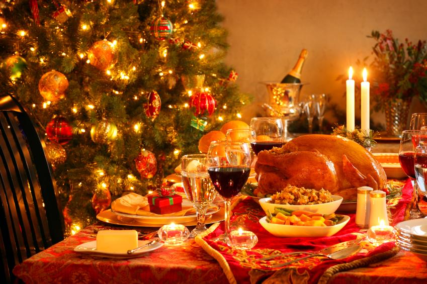 Menü Weihnachtsente