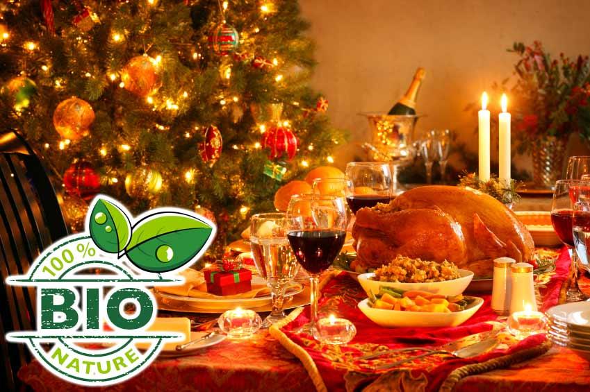 BIO Menü Weihnachtsente