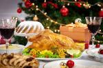 Weihnachtsgans mit Soße - ohne Beilagen